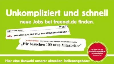 freenet Anzeige Hamburger Abendblatt