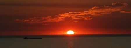 Sonnenuntergang in Cape Town